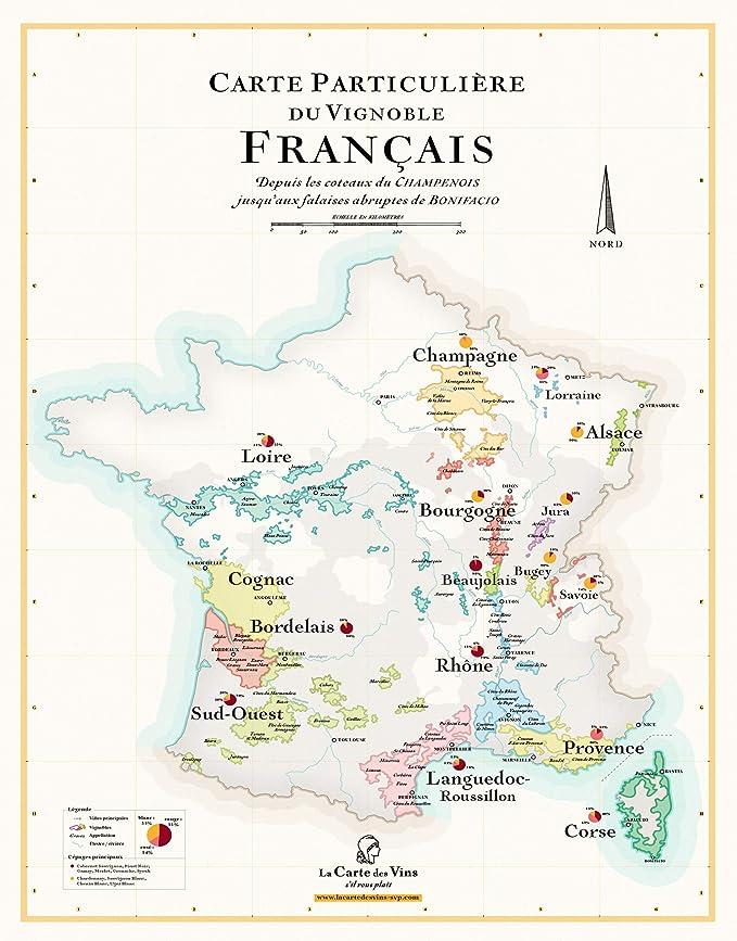 vignobles français