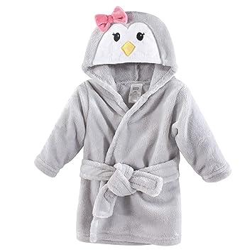 Girl Penguin Luvable Friends Plush Bathrobe 0-9 Months