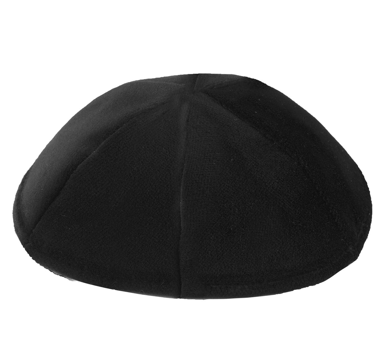 Ahead Black Velvet Kippah -Classic, Comfortable, Breathable Yarmulke