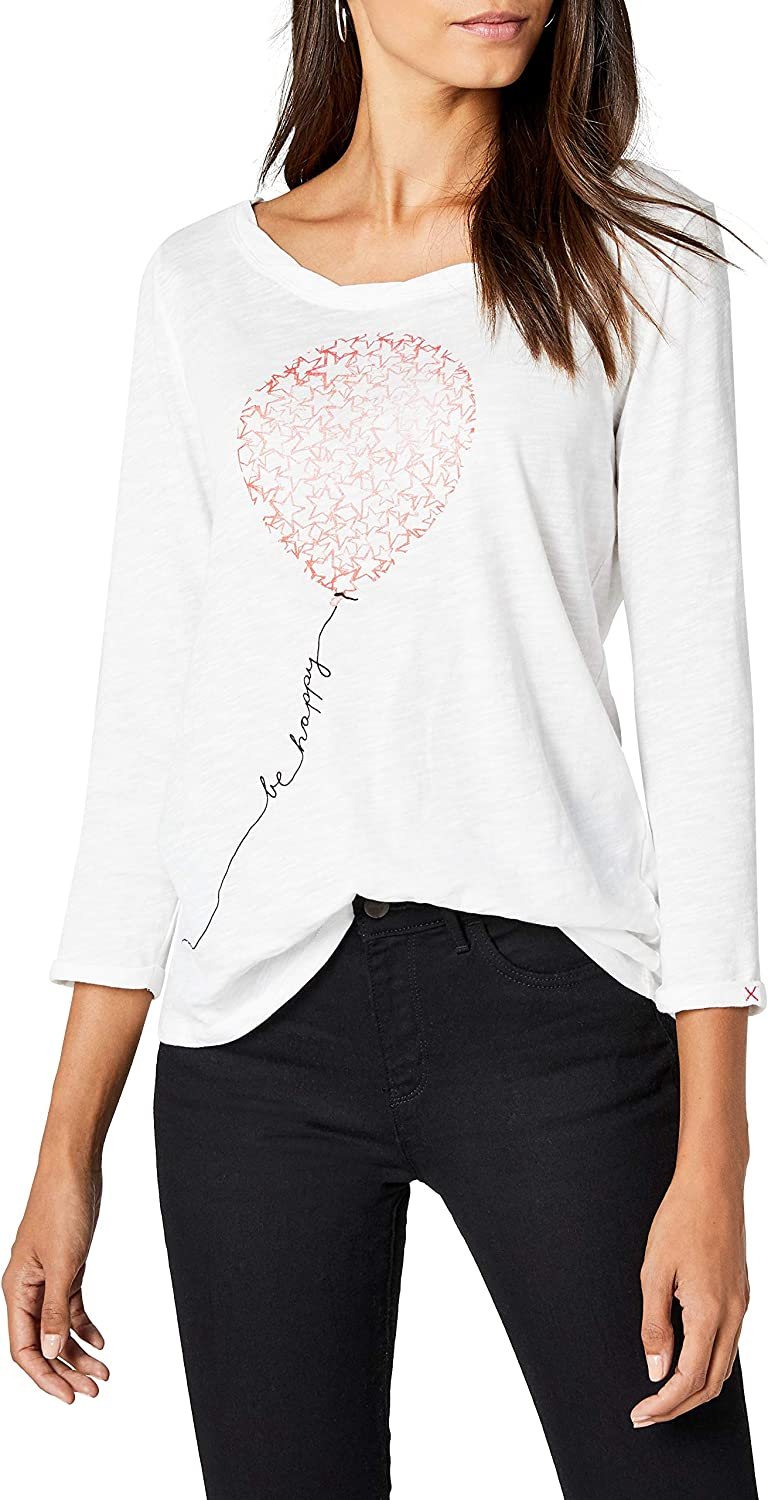 edc by Esprit 998cc1k800 Camisa Manga Larga, Blanco (Off White 2 111), X-Large para Mujer: Amazon.es: Ropa y accesorios