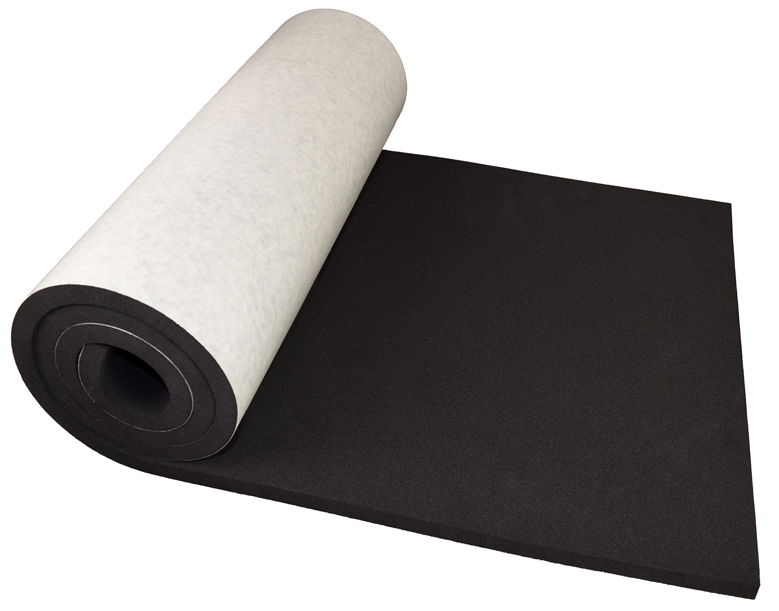 XCEL Extra Large Marine Roll, Closed Cell Neoprene Rubber with Adhesive, Size 60'' x 16'' x 1/2'', Easy Cut Material, Water and Weather Resistant, Made in USA by XCEL