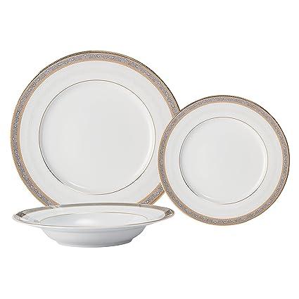 Brilliant - Royal D\u0027oree Dinnerware and Serving Pieces (18 Piece Dinnerware Set  sc 1 st  Amazon.com & Amazon.com   Brilliant - Royal D\u0027oree Dinnerware and Serving Pieces ...