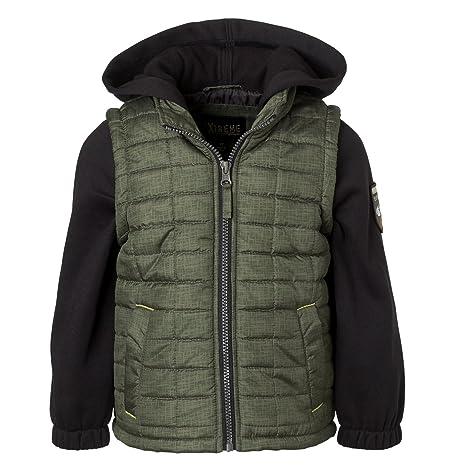 fa127b9c4 Amazon.com  iXtreme Infant   Toddler Boys Jacket - Tonal Vest With ...