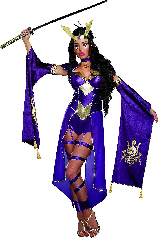 DreamGirl – 9855 Mortal Samurai disfraz de hembra (XL): Amazon.es ...
