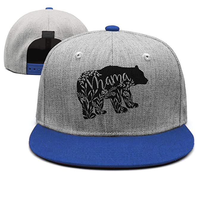 40b68f4a Unisex Adjustable Hat Floral Mama Bear Baseball Cap Dad Hat at Amazon Men's  Clothing store: