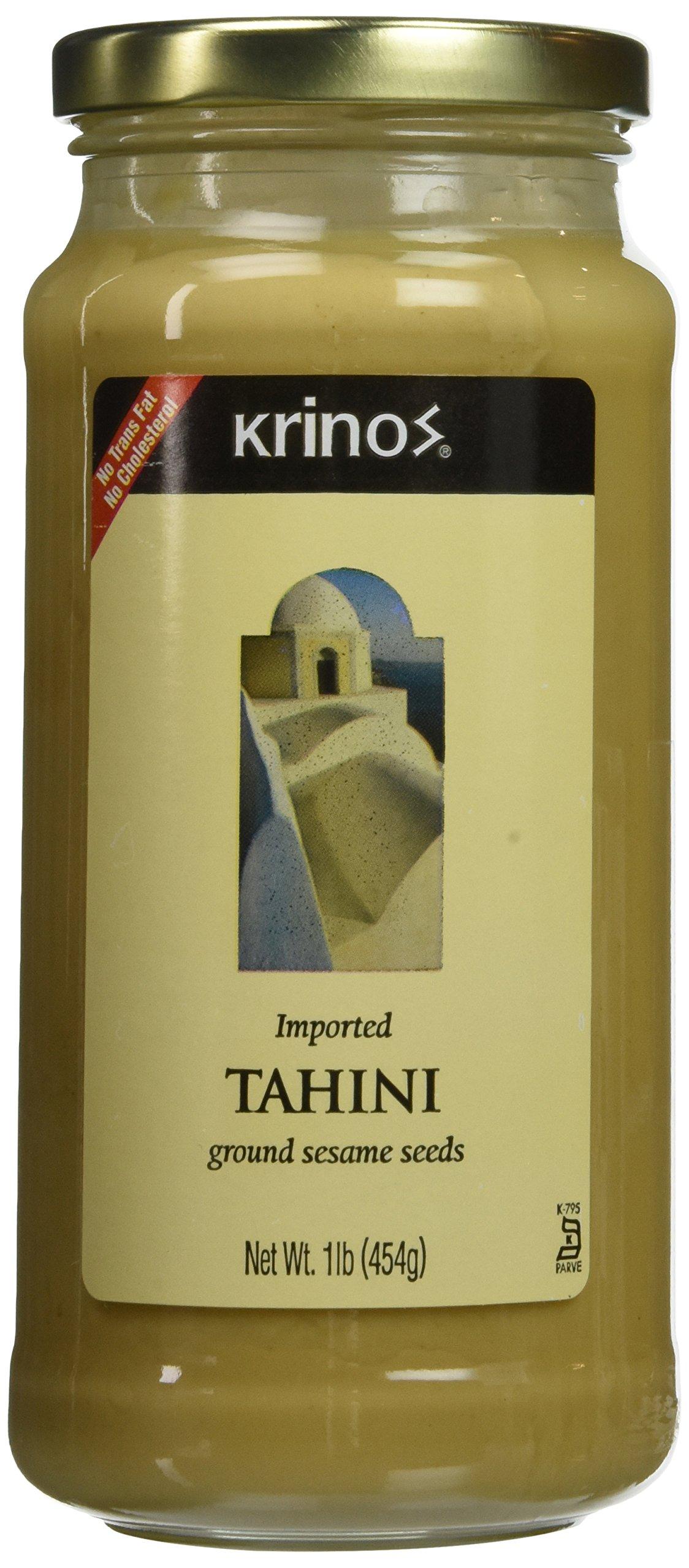 Tahini, Ground Sesame Seeds (krinos) 1lb