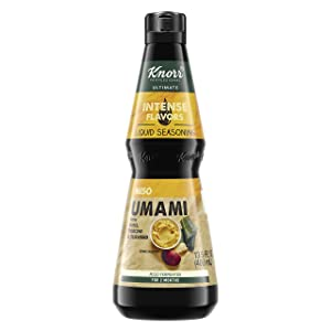 Knorr Professional Ultimate Intense Flavors Miso Umami Liquid Seasoning Vegan, Gluten Free, 13.5 oz, Pack of 4