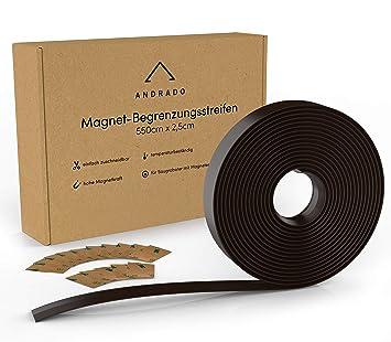 Robot aspirador cinta magnética – 5.5 m x 2.5 cm – extragrandes limitación rayas para aspiradora de