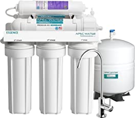 APEC Top Tier Alkaline Mineral PH+ 75 GPD 6 Stage Ultra Safe Reverse  Osmosis Drinking
