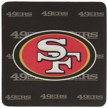 Amazon.com: NFL San Francisco 49ers Neoprene Coaster, 4-Pack ...