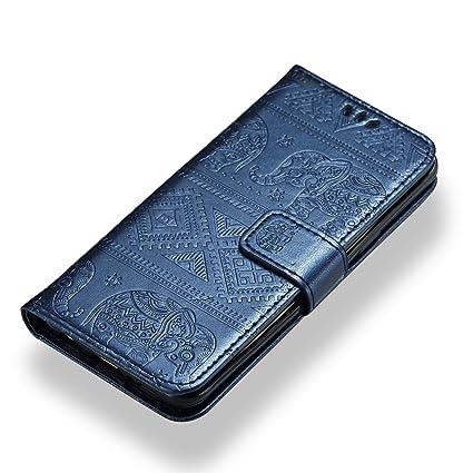 Amazon.com: Galaxy S9 Funda portafolios, kmiss Premium ...