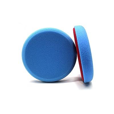 Maxshine Blue Flat Foam Finishing Pad - 5 Inch/130mm: Home Improvement