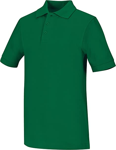 Classroom Big Boys Uniform Pique Short Sleeve Polo,Dark Navy,X-Large 58322-Dark Navy-X-Large