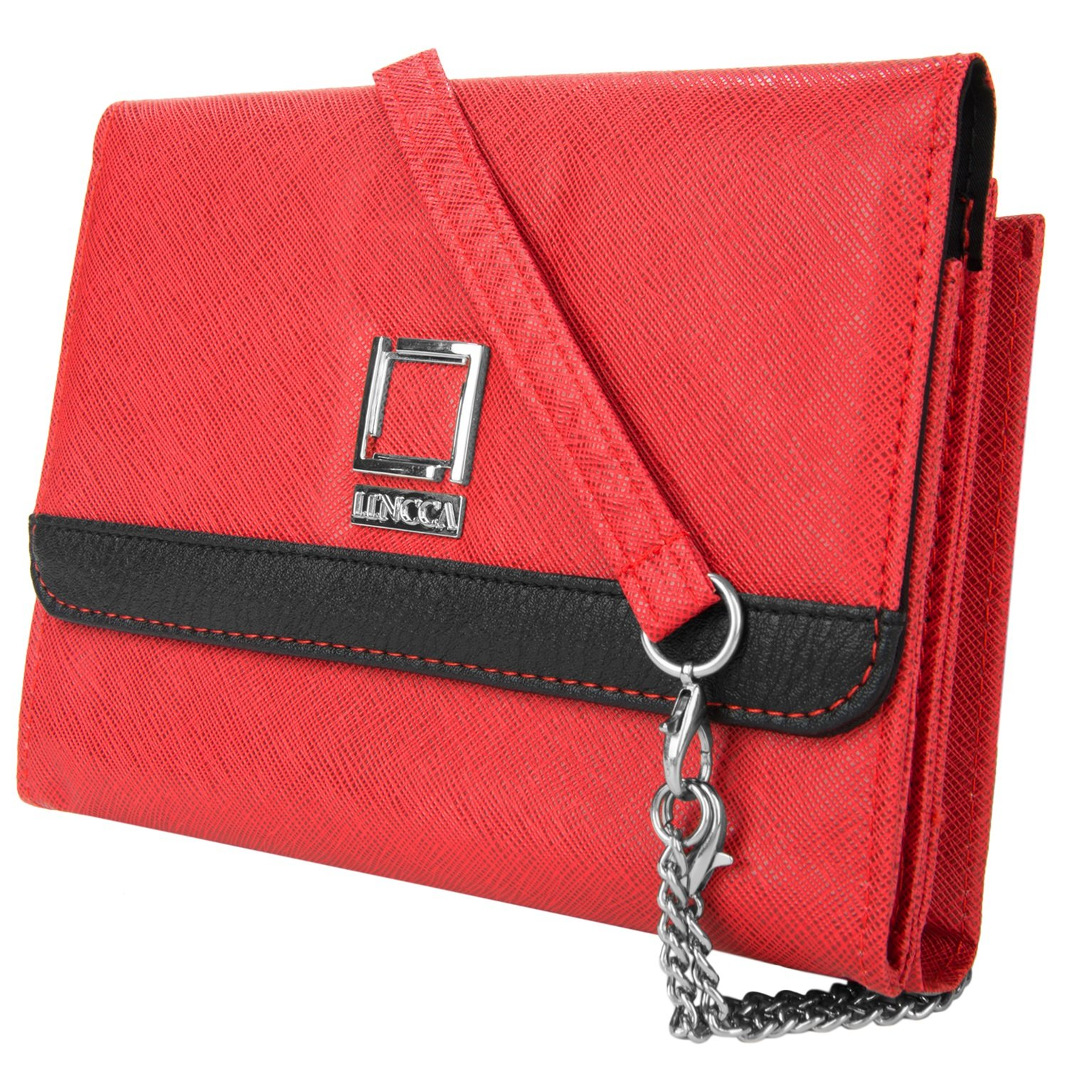 Ruby Vegan Leather Clutch for ASUS Phones by Lencca