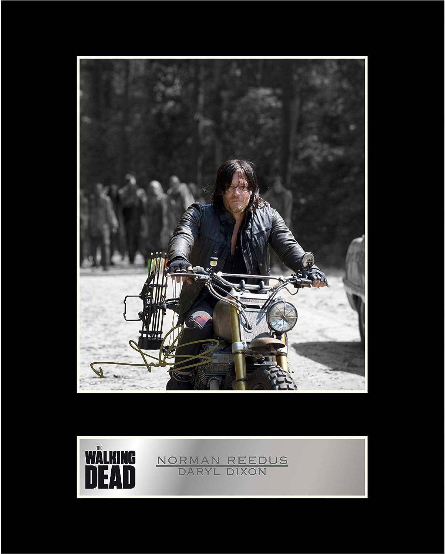 The Walking Dead TV Show Fotodruck Poster Kunst Daryl Dixon Norman Reedus 026