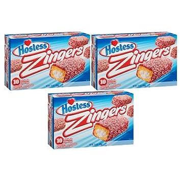 Hostess Raspberry Zingers 13 4 oz  Box (30 Count): Amazon