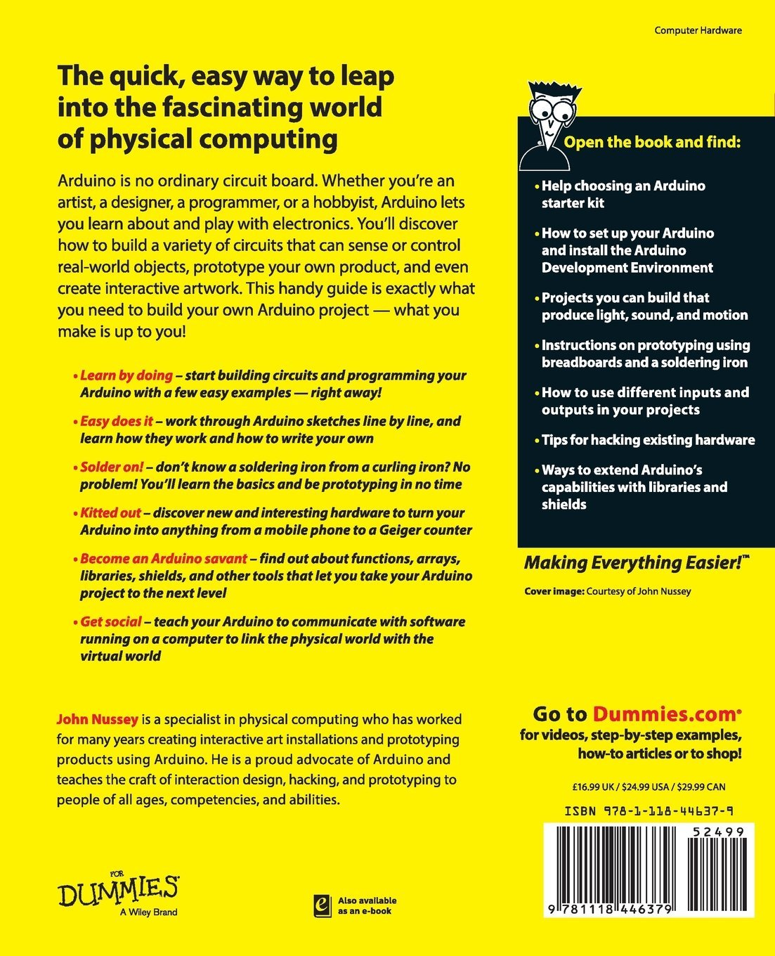 Buy arduino for dummies for dummies series book online at low buy arduino for dummies for dummies series book online at low prices in india arduino for dummies for dummies series reviews ratings amazon 1betcityfo Image collections