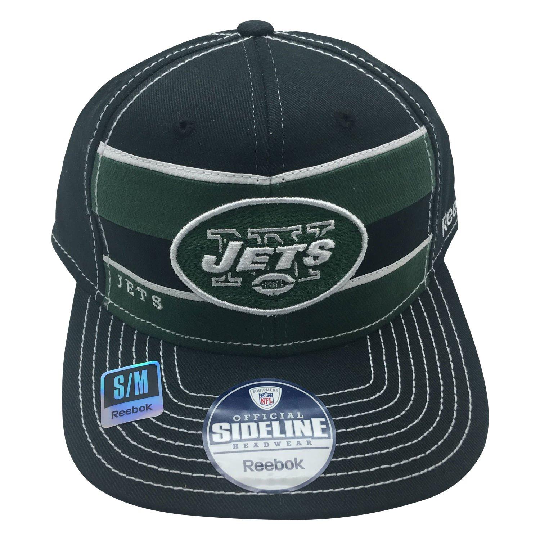 c0bbc0c4eb5 Amazon.com   NFL New York Jets Sideline S M Hat   Sports   Outdoors