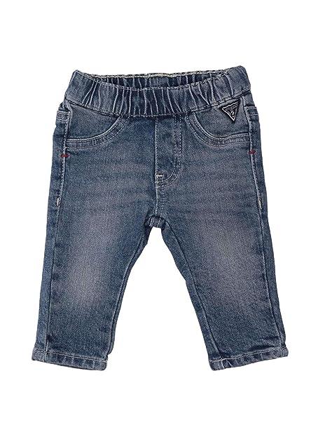 Guess I83A01D37K0 Pantalones Vaqueros niño: Amazon.es: Ropa ...