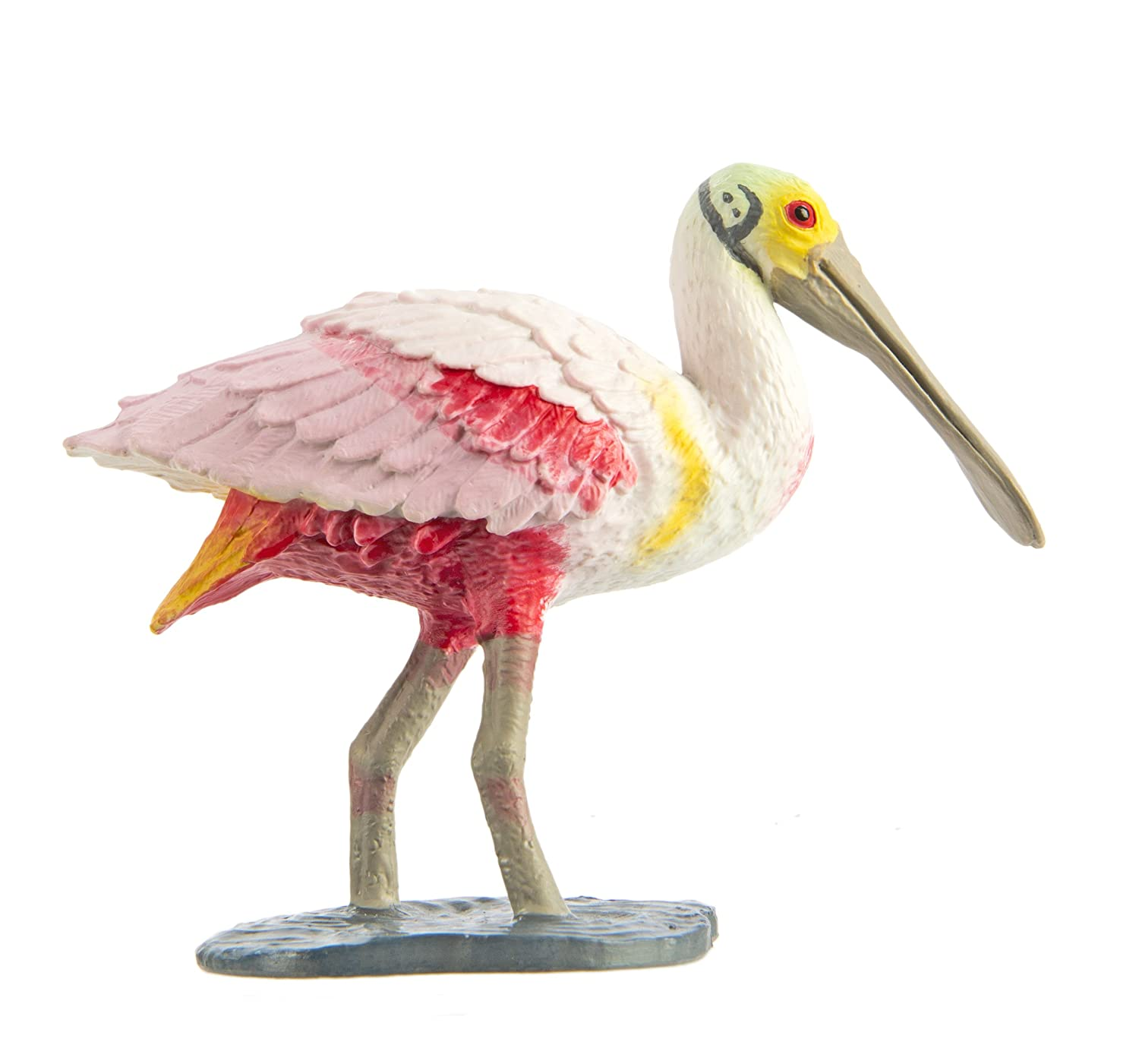 Safari Ltd Quality Construction from Phthalate Lead and BPA Free Materials Spoonbill for Ages 3 and Up 224829 Wildlife