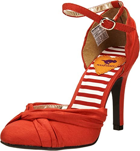 Womens Red Rocket Dog High Heels Synthetic Shoes Size 3 4 UK