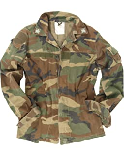 60e38ad139e80 Italian Army Genuine Issue Surplus Military Combat Field Jacket Camouflage  Tarn GRADE1