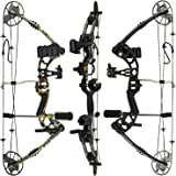 """XGeek Compound Bow Package,M1,19""""-30"""" Draw Length,19-70Lbs Draw Weight,320fps"""