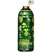 12-Pack Ito En Oi Ocha Unsweetened Bold Green Tea