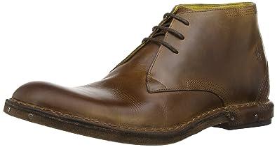Fly London HANS, Chaussures de ville à lacets pour homme - Marron - Braun (Camel 002), EU: 41 (UK Homme: 7)