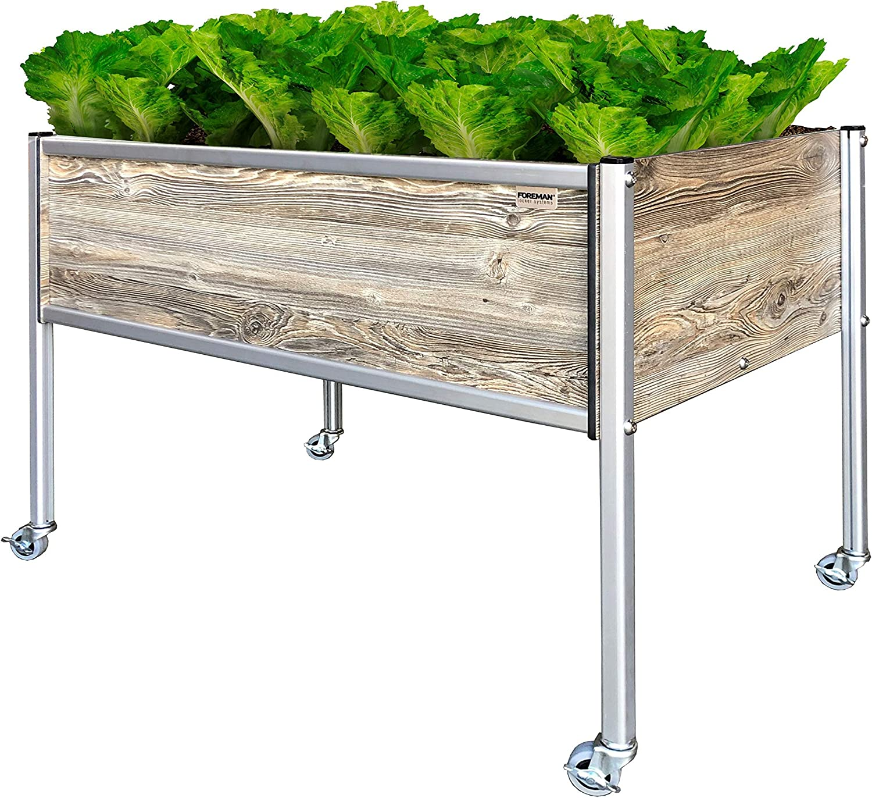 Foreman Raised Garden Bed Planter Box Kit 36