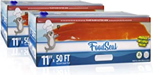 "FoodSeal 11"" x 50' Vacuum Sealer Rolls 
