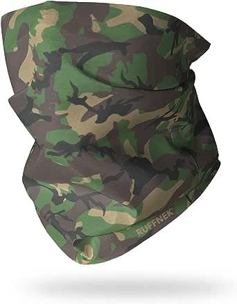 Ruffnek Bosque Camuflaje EJÉRCITO/DISEÑO Camuflaje Prenda Multifuncional para Cabeza y Calentador Cuello para Hombres, Mujer & Niños