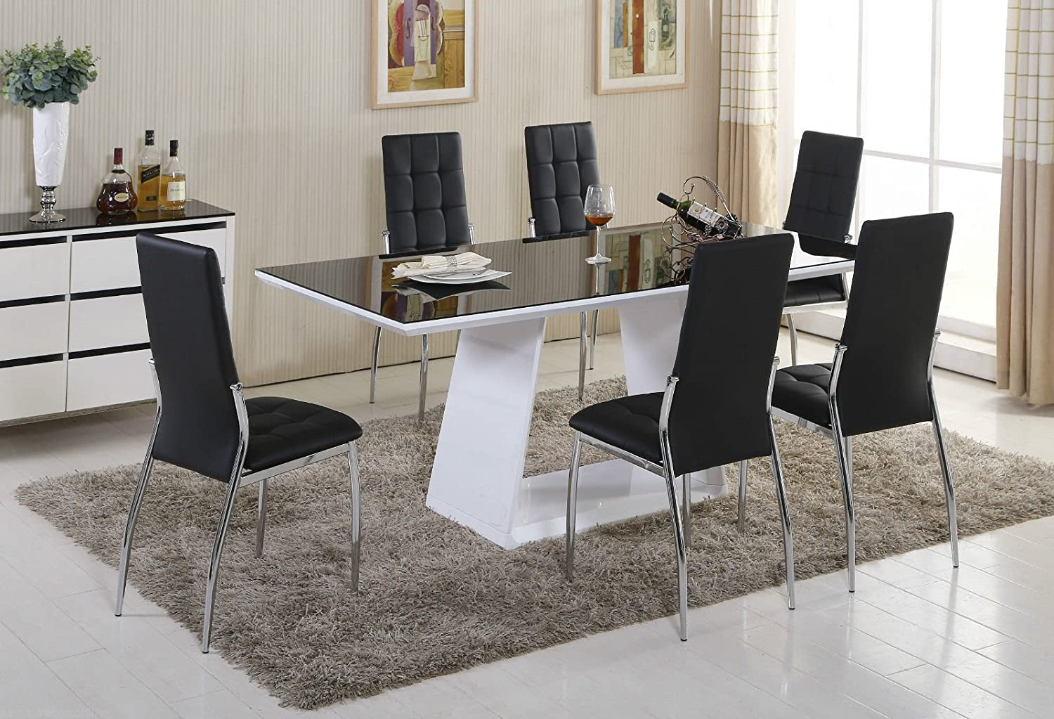 Italian Glass Dining Table Dining Table Italian Style Fantastic Home Design