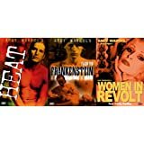 ANDY WARHOL COLLECTION - Heat + Flesh For Frankenstein + Woman In Revolt 3 DVD Edition