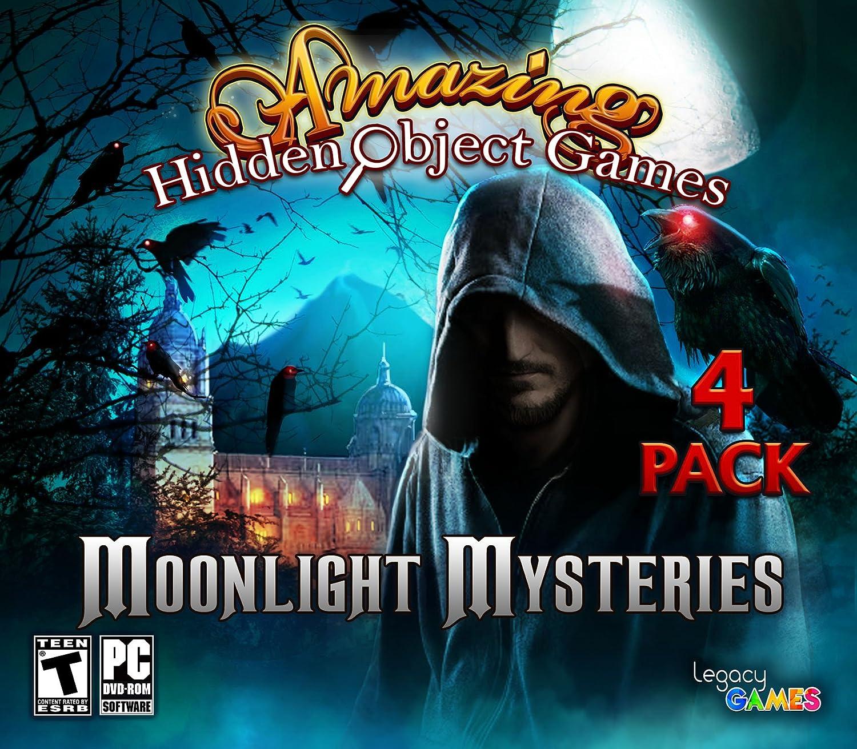 Amazon Com Moonlight Mysteries Amazing Hidden Object Games 4 Pack Video Games
