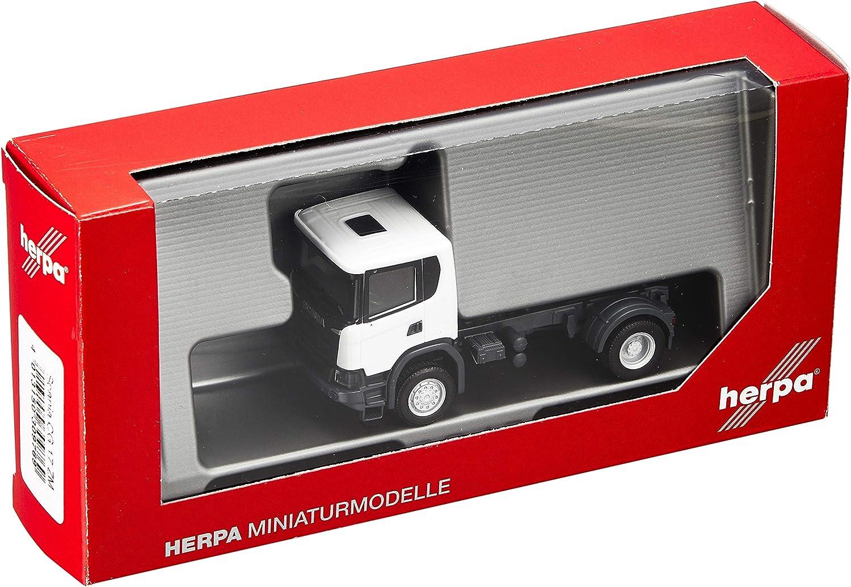 Herpa 309769 Scania CG 4x4 Zgm Color Blanco