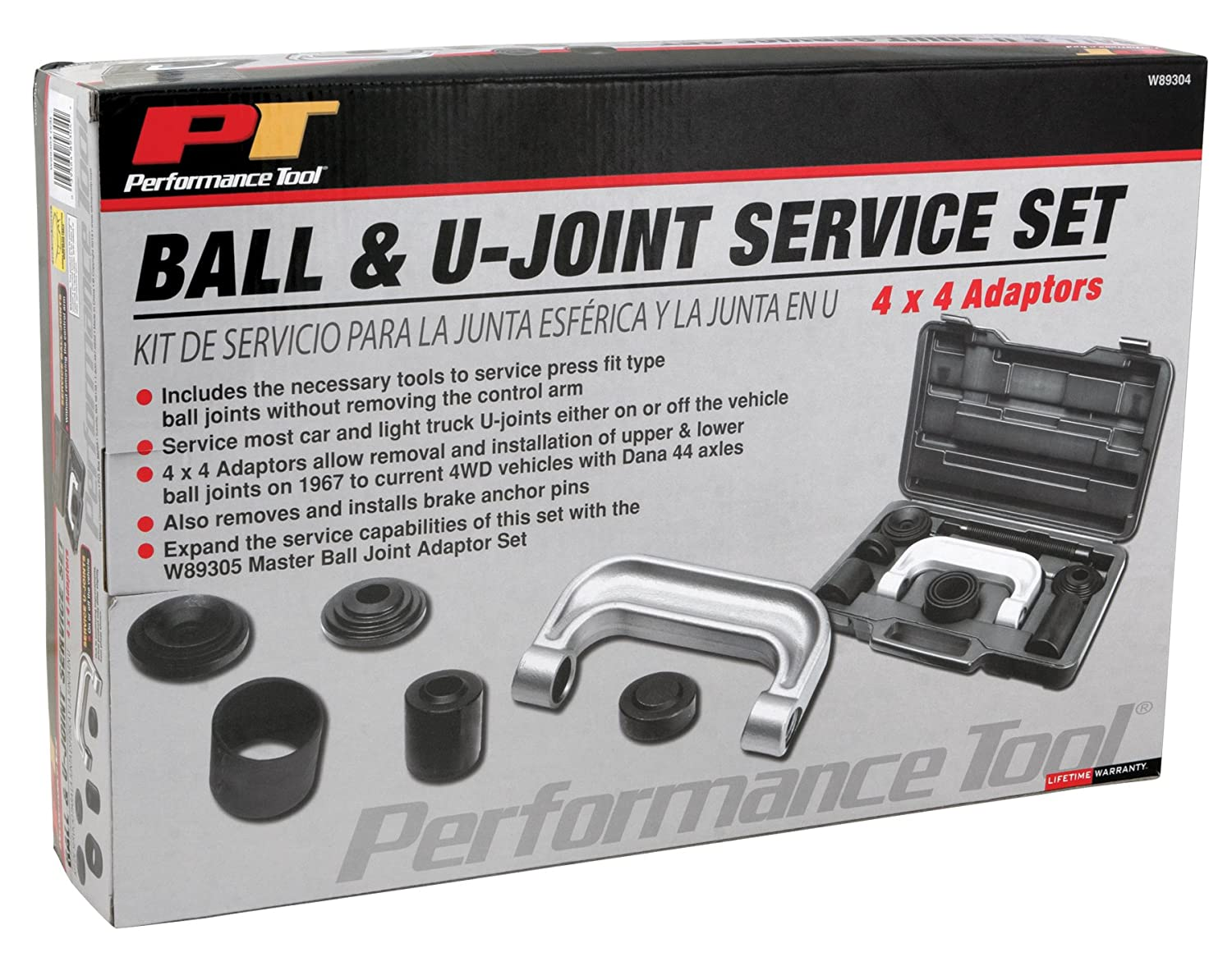 ball joint tool. performance tool w89304 4-in-1 ball joint adapter set - u press amazon.com t