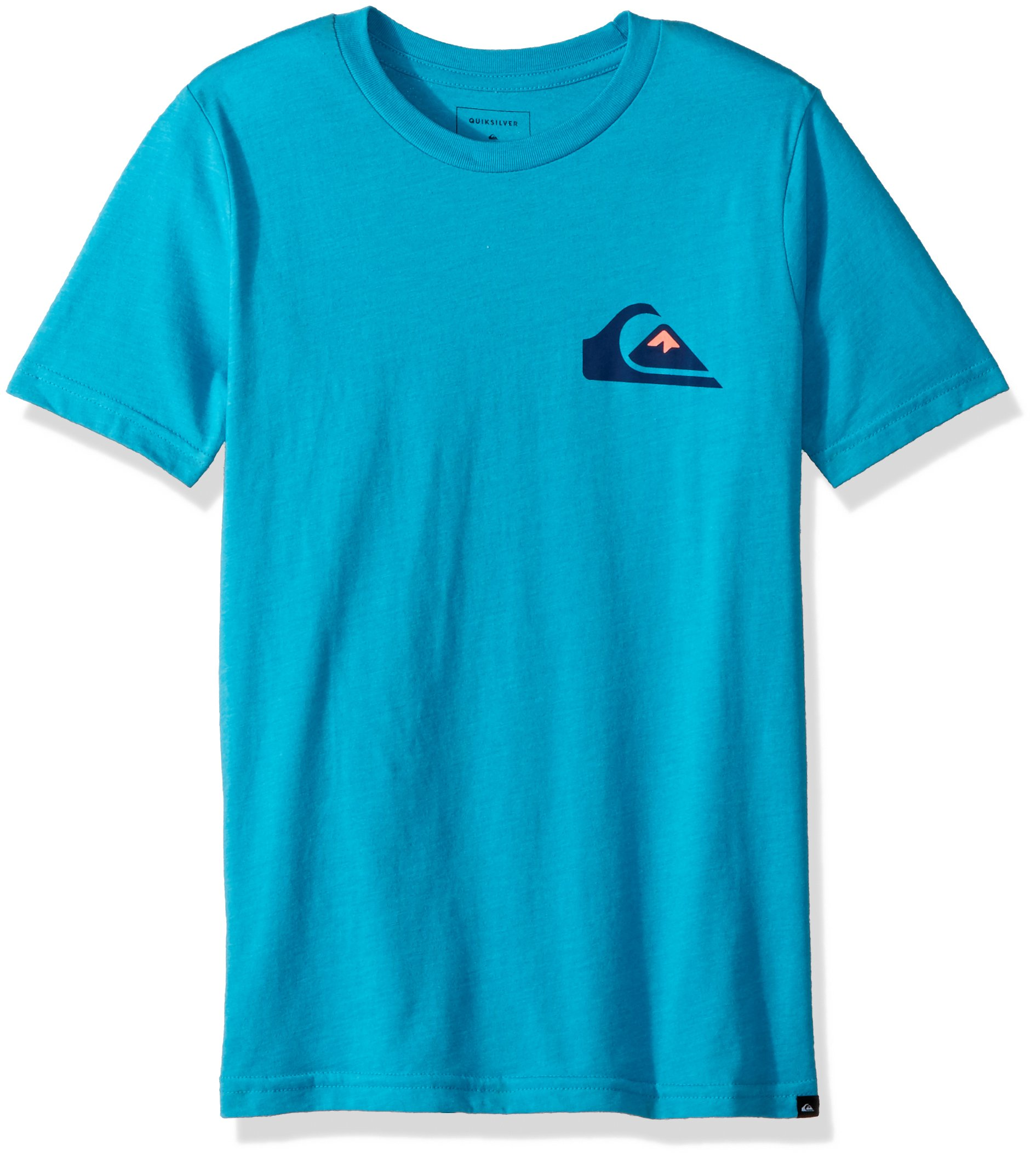 Quiksilver Big Boys' Vice Versa Youth Tee Shirt, Typhoon Heather, M/12 by Quiksilver (Image #1)