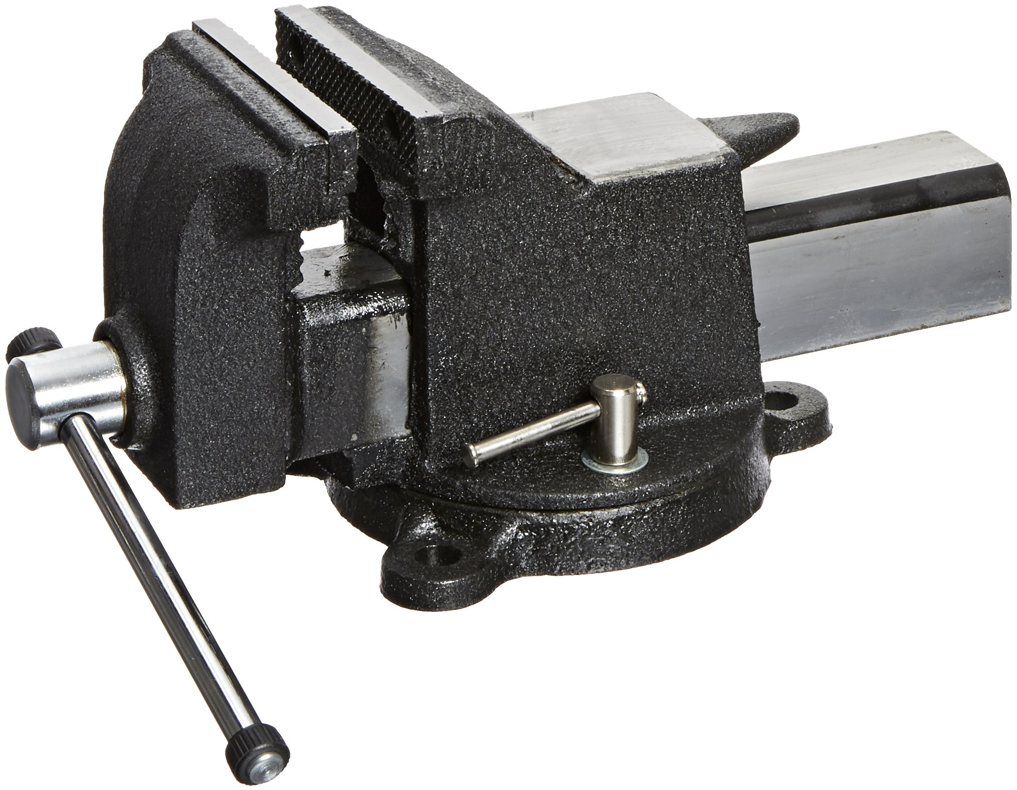 Yost Vises 934-AS 4'' All-Steel Combination Pipe and Bench Vise with 360-Degree Swivel Base