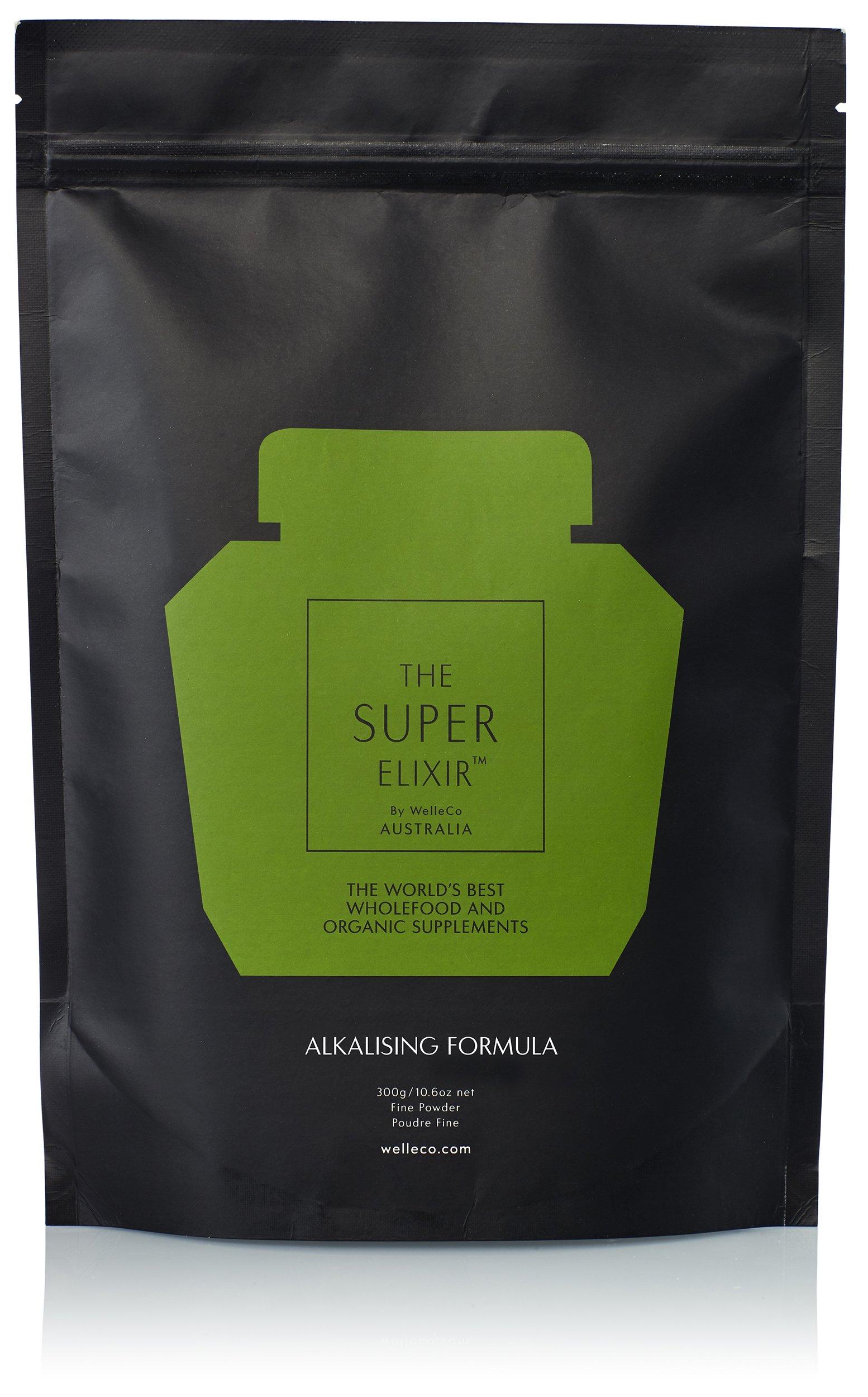 WelleCo - All Natural Super Elixir Greens (300g Refill Pack)