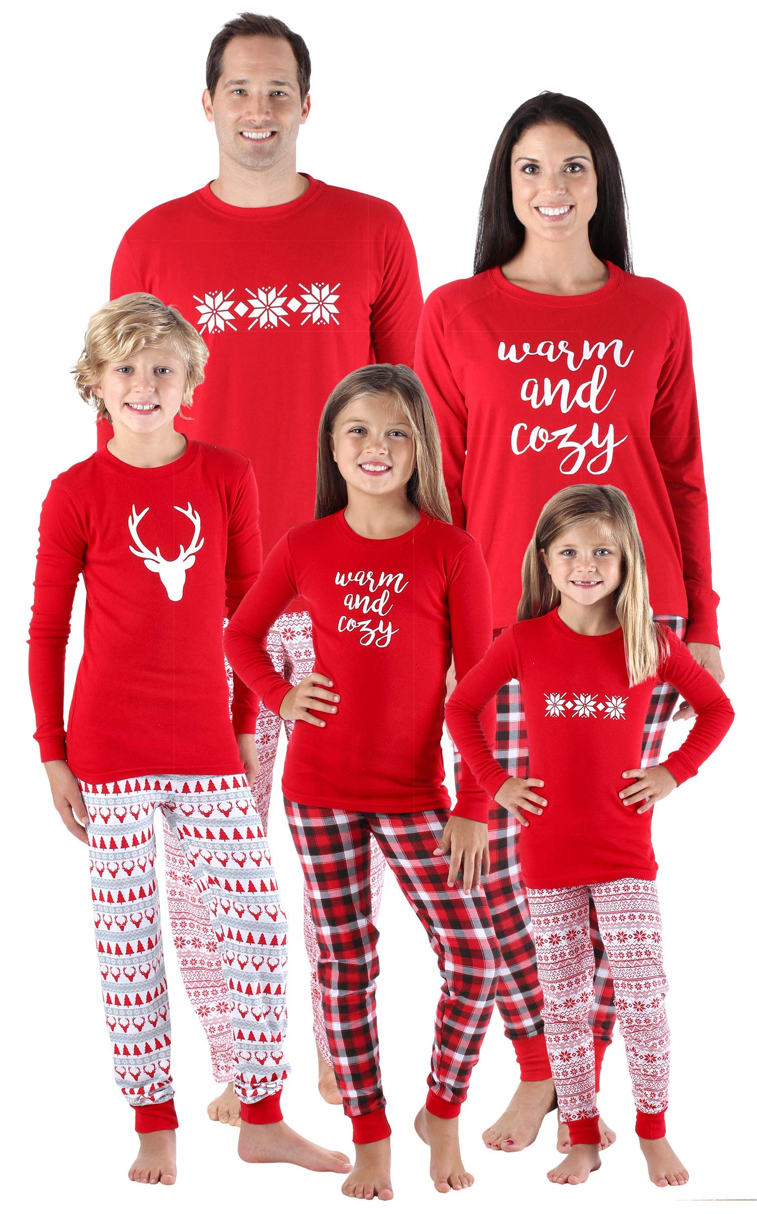 d014b3b19 Matching Christmas Pajamas for the Whole Family
