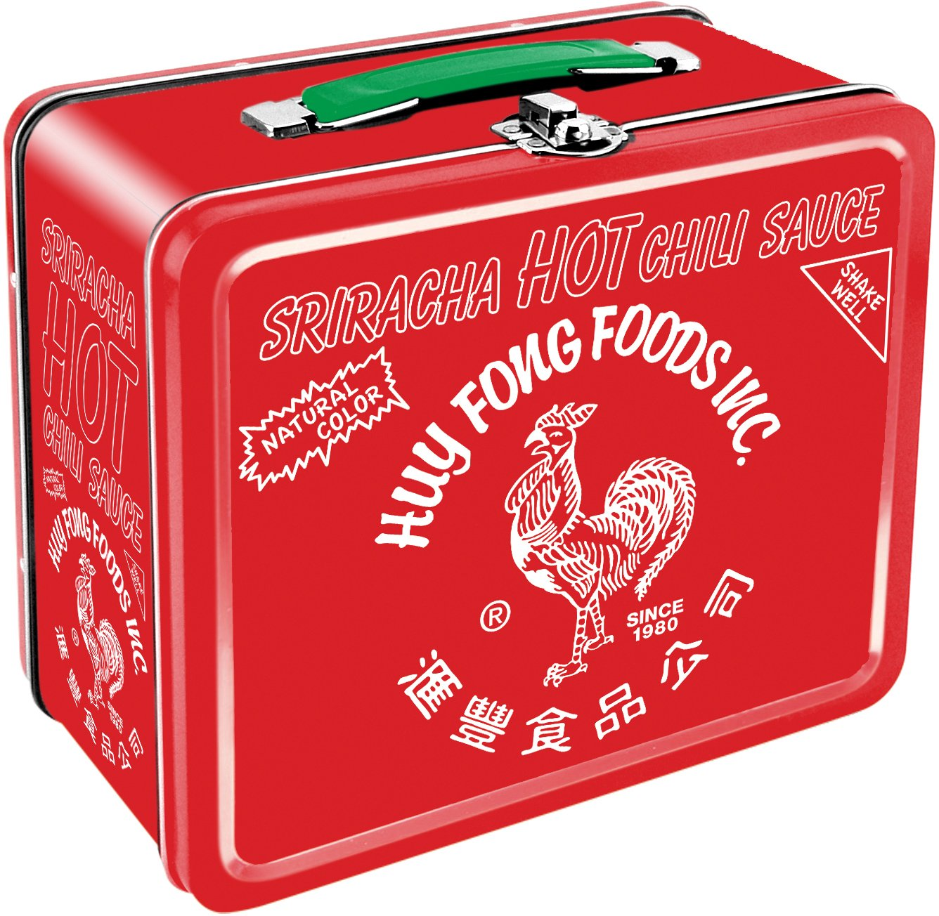 Aquarius Sriracha Large Tin Fun Box
