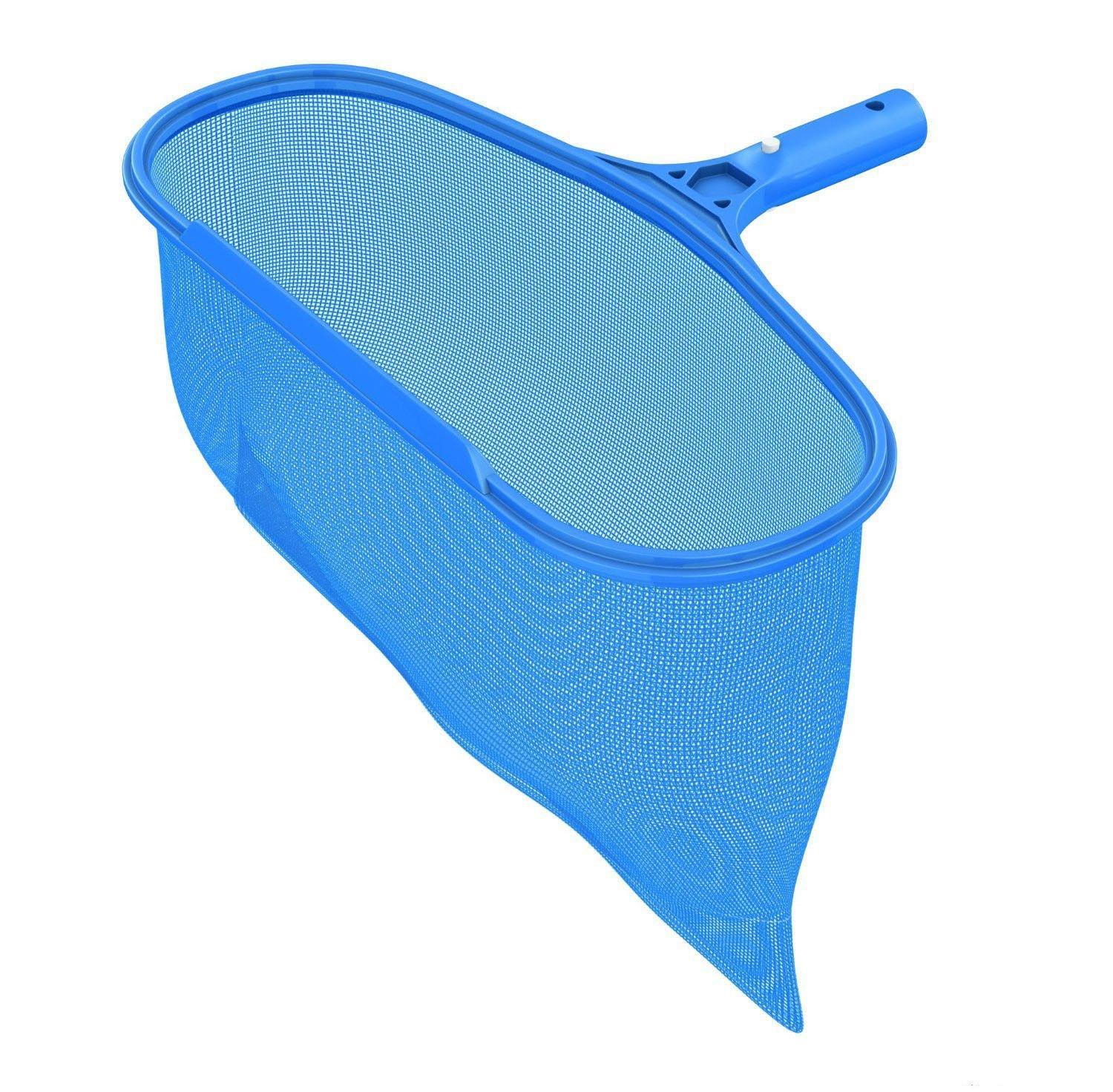 Ultra Durable Pool Spa Leaf Skimmer Net Rake w/ Deep Pocket Net