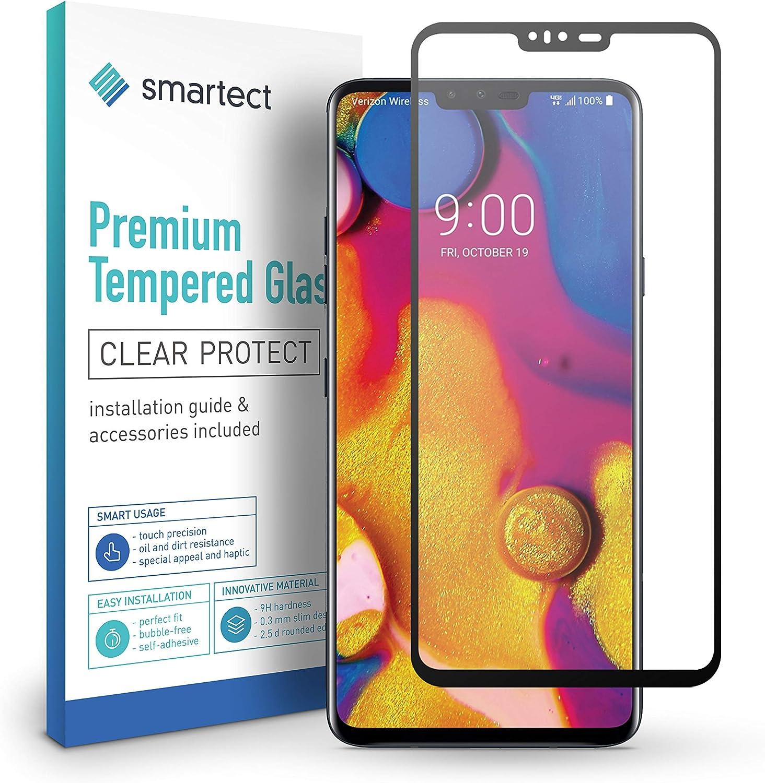smartect Cristal Templado para Móvil LG V40 ThinQ [3D Curvado ...