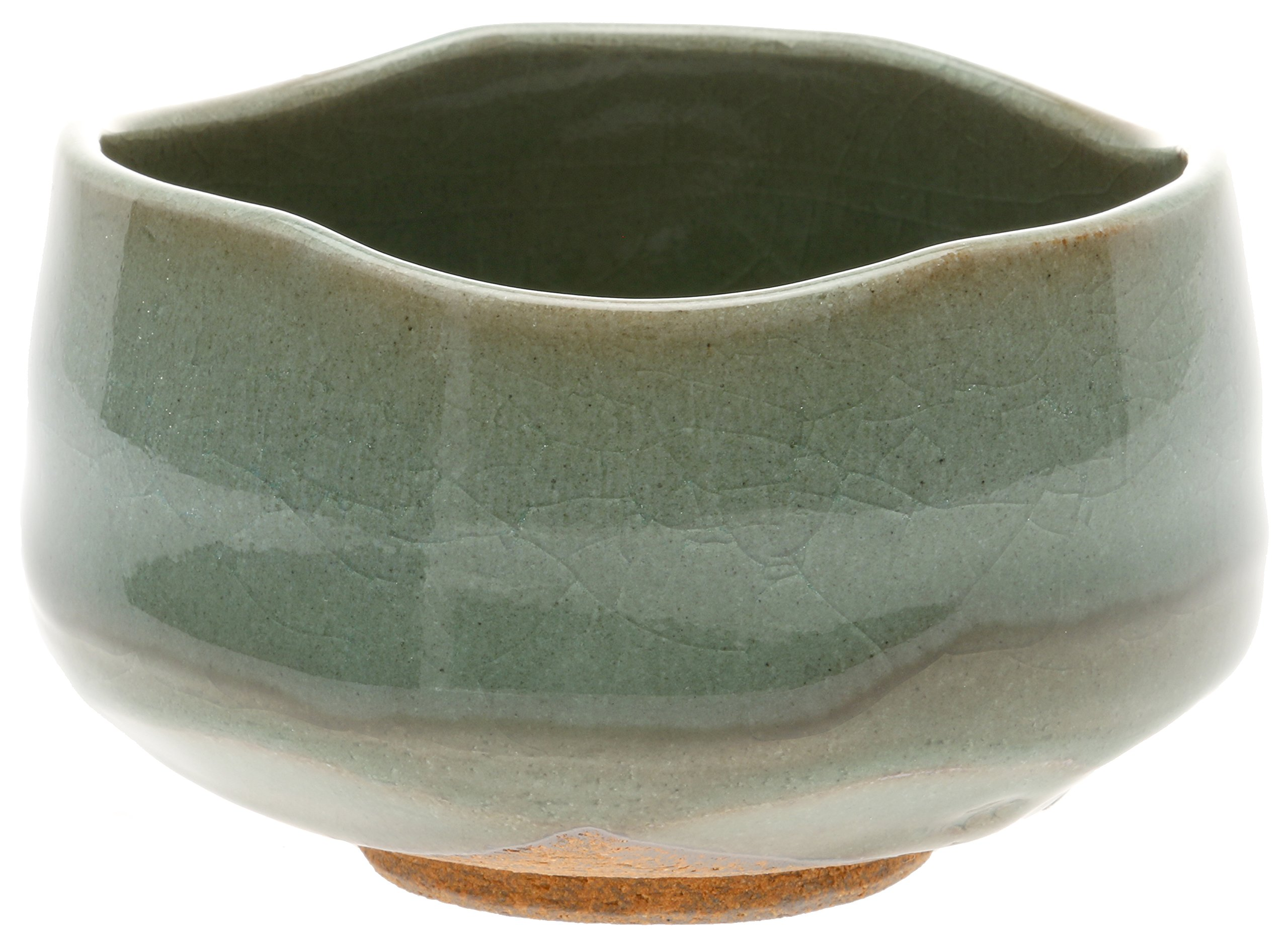 Kotobuki Matcha Chawan Japanese Tea Bowl, Winter Plum Blossom