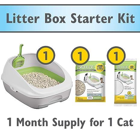 b3bcb98e2c0c4 Amazon.com   Purina Tidy Cats BREEZE Cat Litter System Starter Kit ...
