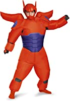 Boys Red Baymax Inflatable Costume