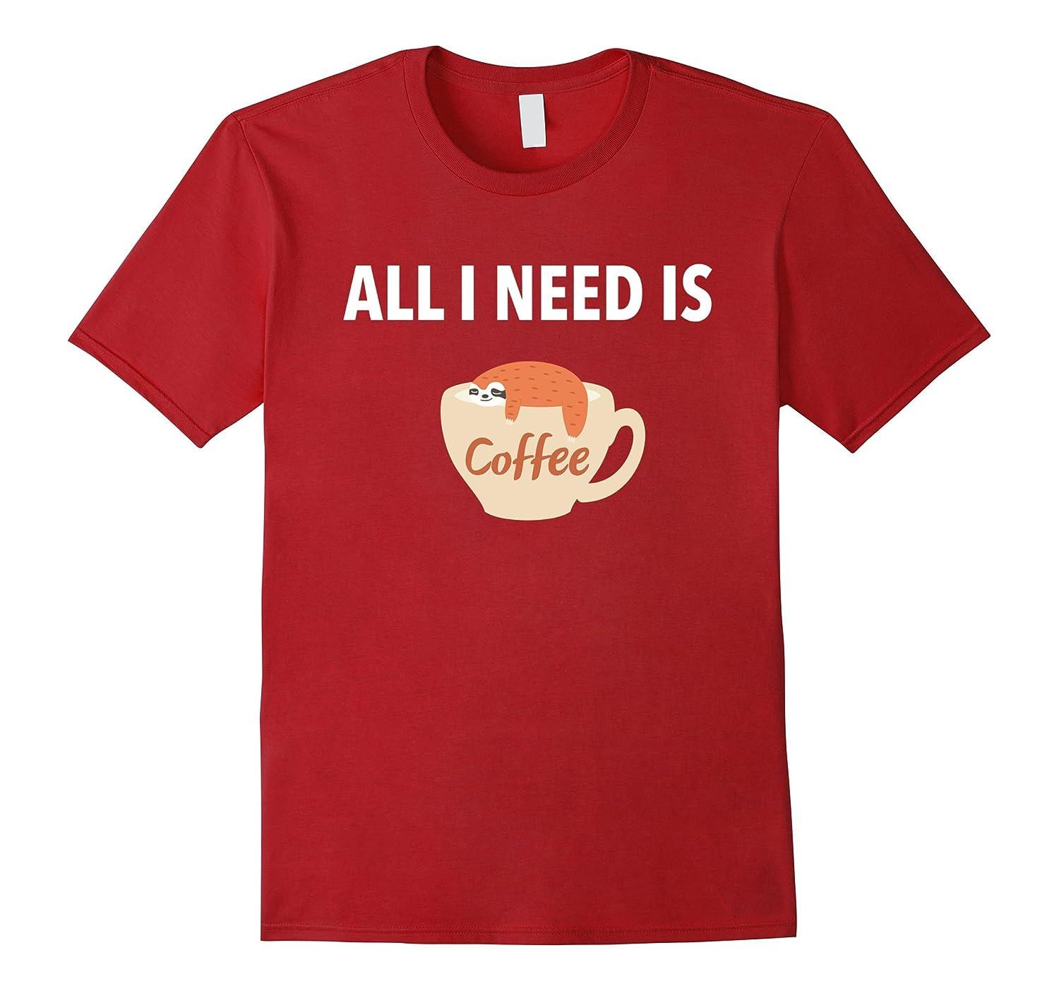9a5f020bf Sloth Coffee Mug Tshirt Comic Lazy Animal Humor Tees-Vaci – Vaciuk