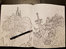 Amazon World Of Warcraft An Adult Coloring Book