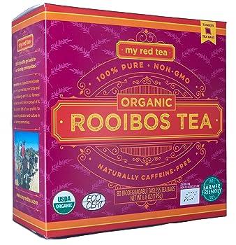 MY RED TEA Natural Single Origin Rooibos Tea